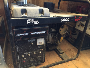 Sommers Gas Generator