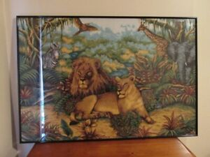 King & Queen of the Jungle art print
