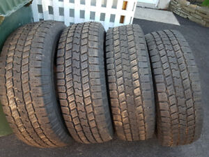 Good Year Wrangler SRA tires LT245/75/R16 (10 ply)