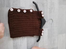 Hand Crocheted Baby vest