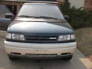 1992 Mazda MPV Limited Minivan, Van