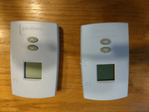 Two digital thermostats