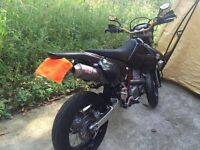 drz 400 sm mint, ultra propre completement modifie
