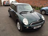 2002 Mini One 1.6, only 63k miles