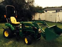 Immaculate Acreage Tractor