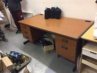 Desk -- Large, Quality solid office furniture