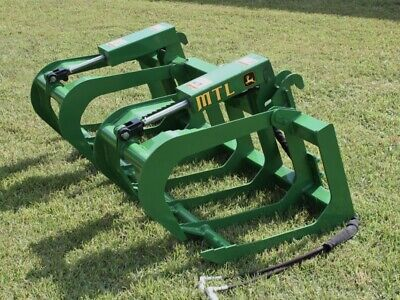 Mtl Attachments 72 Root Grapple Bucket Fits John Deere Tractor Loader-new 2020