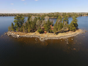 Beautiful Island Property on Long Bay, Lake of the Woods