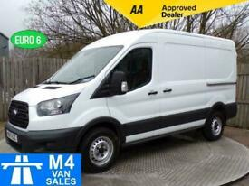 2017 Ford Transit 2.0 330 A/C FWD L2 H2 EURO6 130 ps MWB Panel Van Diesel Manual