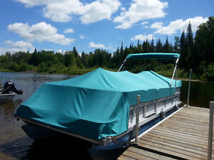 20ft Spectrum Pontoon with 40hp Yamaha and trailer