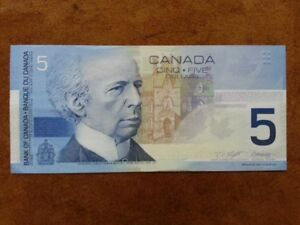 2001 - Five Dollar Note
