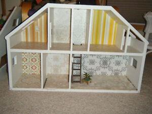 Custom Built Wood doll house