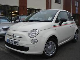 2009 09-Reg Fiat 500 1.2 POP,BOSANOVA WHITE,GEN 60,000 MILES,MUST SEE!!!