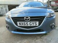 LHD Mazda 3 SkyActive 2.0L Automatic A/C 5 Door FSH LOW MILES UK REG IMMACULATE!