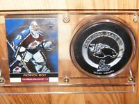 Patrick Roy Signed Sea Dogs Puck