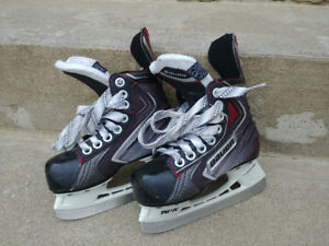 For kids: Bauer ice hockey skates Youth Size 11