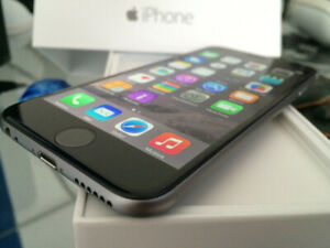 ★FACTORY UNLOCKED★.APPLE IPHONE 6 16GB BLACK SPACE GREY ★✅ Free
