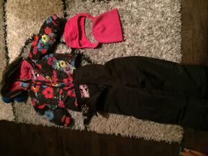 Vêtements d'hiver pour petite fille