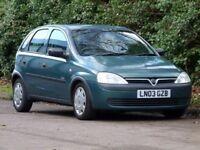 2003 Vauxhall corsa 1.7 di diesel