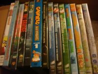 Childrens And Adult DVDs $2 per Show $5 per Seasons
