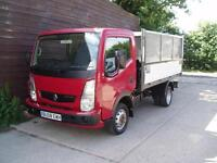 2008 RENAULT MAXITY NISSAN CABSTAR CAGE TIPPER 3500 KG GVW 85,000 MILES