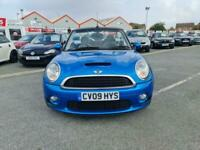 2009 09 MINI COOPER S 1.6 CONVERTIBLE,HUGE SPEC XENONS HEATED LEATHER,STUNNING