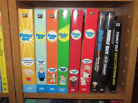Family Guy dvd sets + Star Wars specials