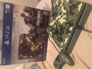PlayStation 4 Slim -1TB- Call of duty edition great condition