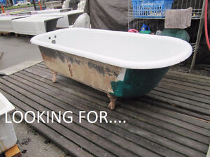 Looking for Cast Iron Clawfoot Tub