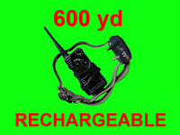 600 Yard RECHARGEABLE 7 LEVEL SHOCK VIBRATION COLLAR AT-216S-550