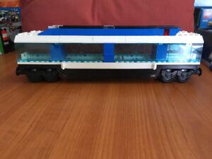 LEGO 9V train passenger car from LEGO 4561.