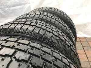 4*195/70R14 - Winter Tires + Rims with GOOD CONDITION! West Island Greater Montréal image 7