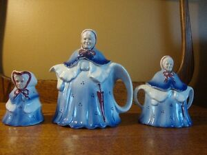 lil old lady teapot sets
