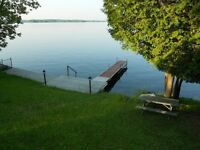Sydenham Lake Cottage available last week before school