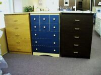 5 drawer chest avalable in 6 different colors WE PAY THE TAX