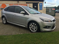09 FORD FOCUS 1.6 ZETEC-S 31000 MILES 7 SERVICES STUNNING EXAMPLE