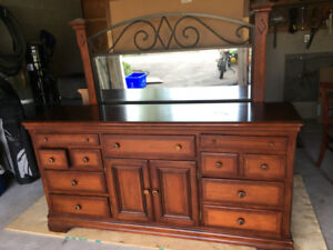 FURNITURE FOR SALE - DRESSERS W/MIRRORS - TV ENTERTAINMENT UNIT