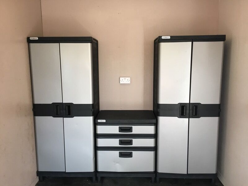 Stanley Garage Storage Workshop Cabinets In Amesbury