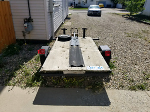 Utility, ATV, motorcycle, snowmobile trailer