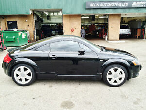 2002 Audi TT Quattro Coupe 225hp Certified & E-Tested