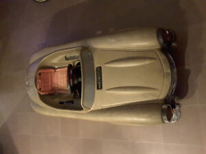 CHILD'S RIDING SPORTS CAR   ( 150.00  or best offer not plastic)