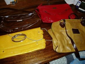 4 New purses; clutch and a valentino leather Kingston Kingston Area image 1