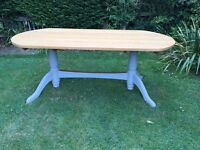 Beautiful large shabby chic dining table