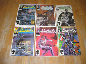 Punisher vintage Key comic Books