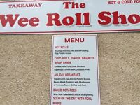 Cook for roll shop