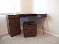 Sewing Desk and Stool