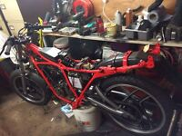 **project bike** Rd125 LC 1985