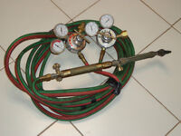 Oxygen- Acetylene Torch Set