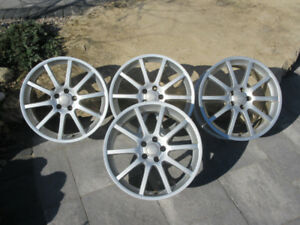 Four 7x17 RSSW wheels for sale