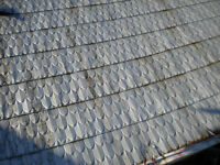 ANTIQUE PATTERN TIN ROOFING $5.
